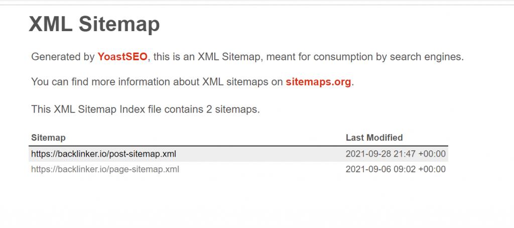 XML-sitemap-example-for-backlinker-technical-seo-audit